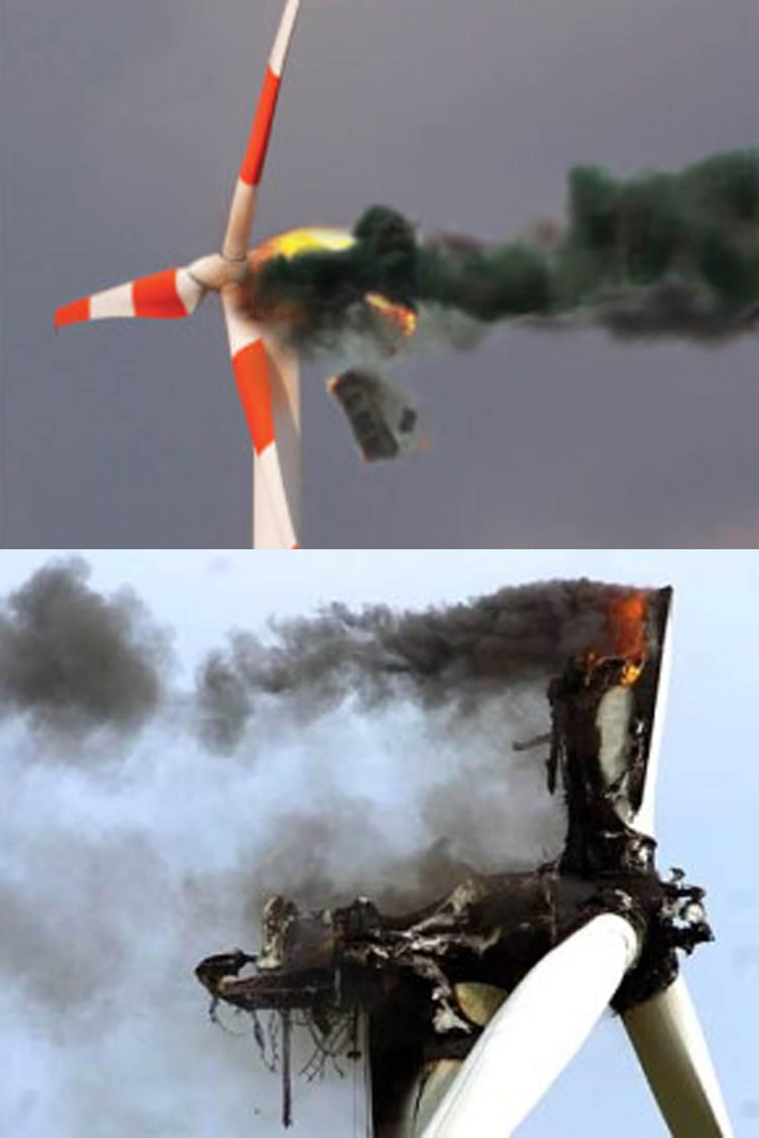 Wind Turbine / Generator Fire Suppression